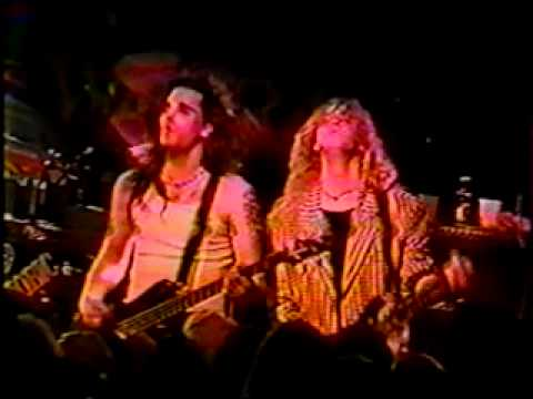 Another bad quality video from the Warrant Ultraphobic tour Part 1