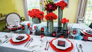 Ken Wingard's Diy Romantic Tablescape