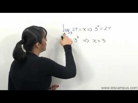 Definición de Logaritmo y propiedades