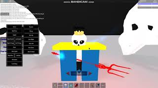 Same test Morph King Sans Undertale in Roblox