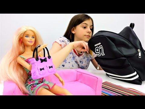 Видео для девочек. РАСПАКОВКА Барби: Розовый ВЕЛОСИПЕД для Барби!🚲 Игры #Барби на канале Лайкландия
