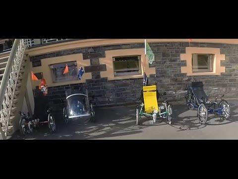 Victoria Park South Australia & Pedal Prix  - Recumbent Trike Ride Tour