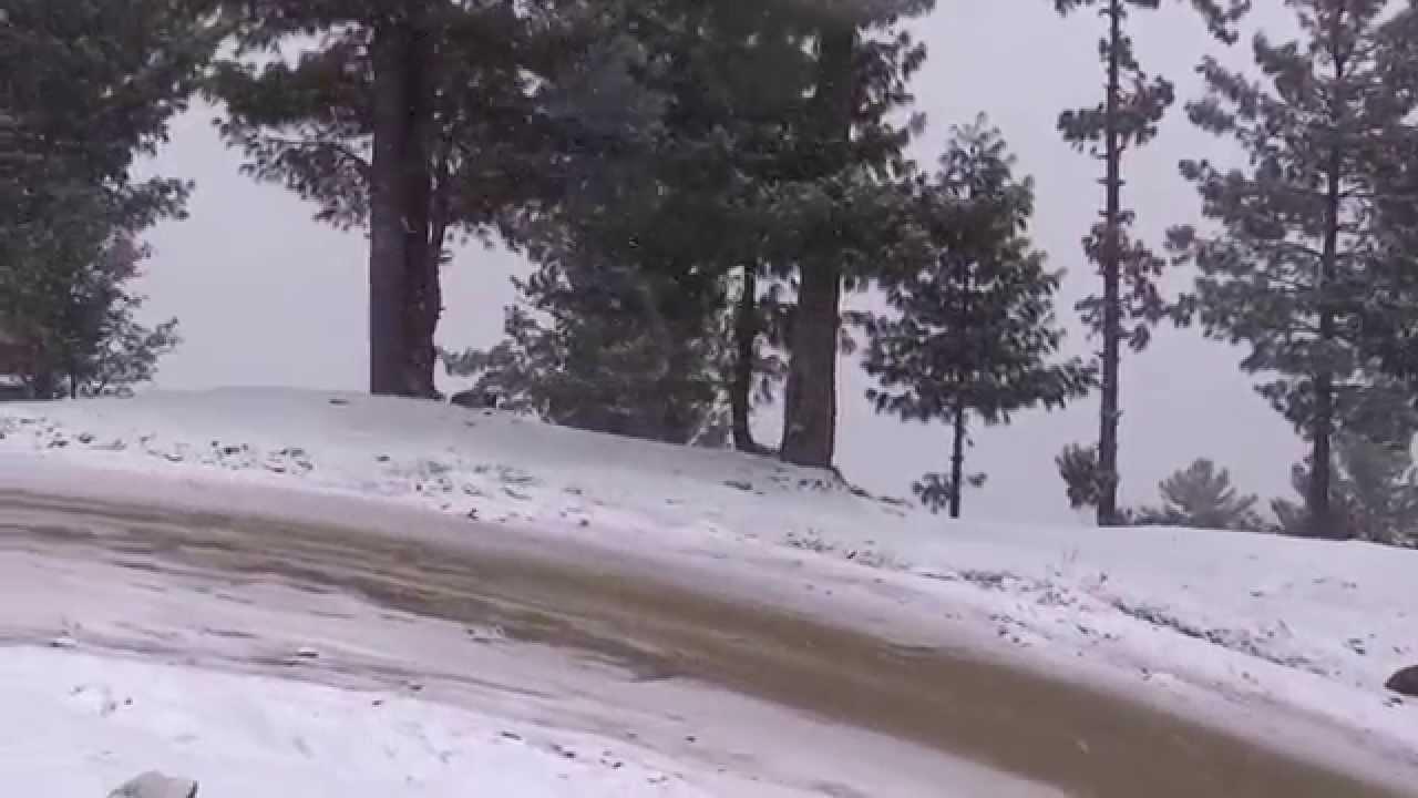 Snow Fall Malam Jabba Also Maalam Jabba Urdu مالم جبہ Hill