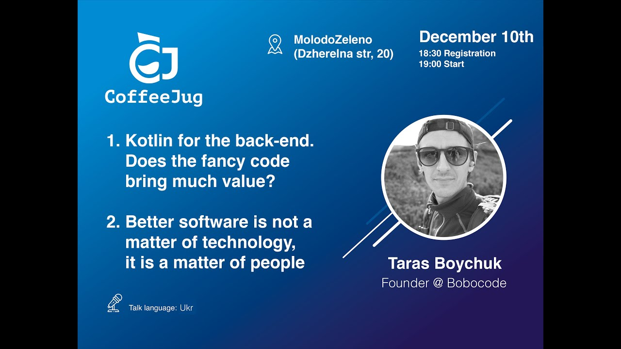 Better software is not a matter of technology, it is a matter of people   CoffeeJUG