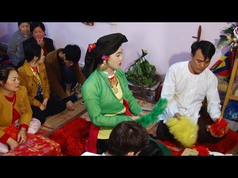 Đồng Thầy Trần Vũ Tiến Hầu Giá Đôi Cô Cam Đường