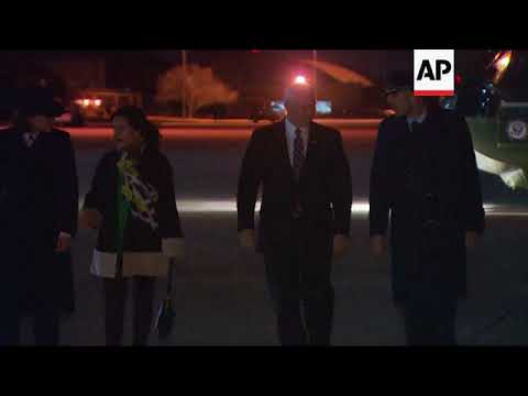 US VP Pence departs for Mideast trip