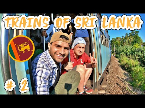 TRAINS OF SRI LANKA - COLOMBO to GALLE 🇱🇰🚆