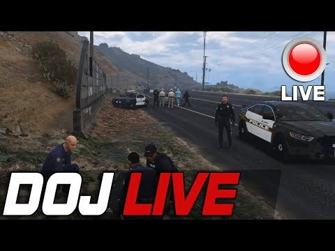Dept. of Justice Cops Role Play Live - Violating My Rights