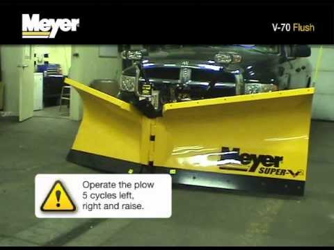 meyer products v70 snow plow hydraulic unit flush meyer products v70 snow plow hydraulic unit flush