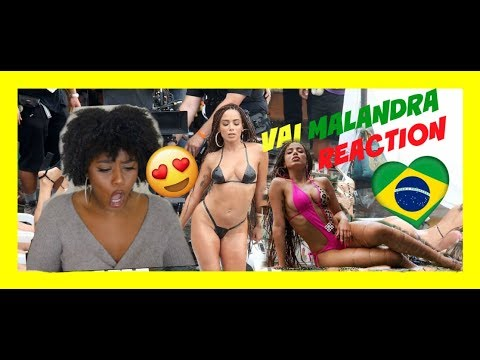 Anitta, Mc Zaac, Maejor ft. Tropkillaz & DJ Yuri Martins - Vai Malandra (Music Video) REACTION