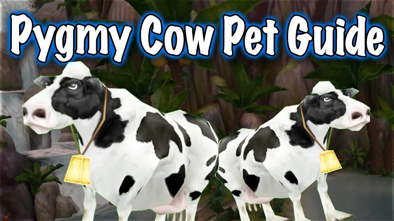 Jessiehealz Pygmy Cow Pet Guide World Of Warcraft Youtube