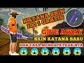 Trik dan Cara Mendapatkan Skin Katana Terbaru Secara Gratis   Free Fire Battleground