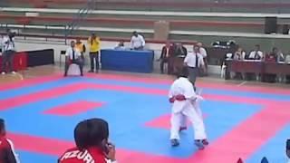 Kumite  68 Kg IV JJNN Juveniles Karate Do Guayas vs  Azuay