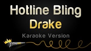 drake hotline bling karaoke version