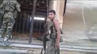 Сирия. Курды против ИГ, ловушка мина. Сентябрь 2018