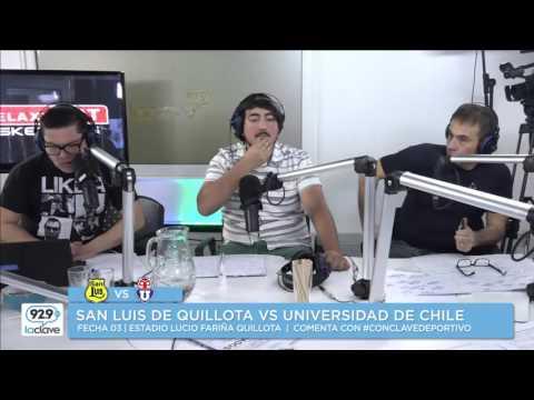Conclave Deportivo   San Luis de Quillota vs Universidad de Chile