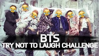 BTS(방탄소년단) - Try Not To Laugh Challenge
