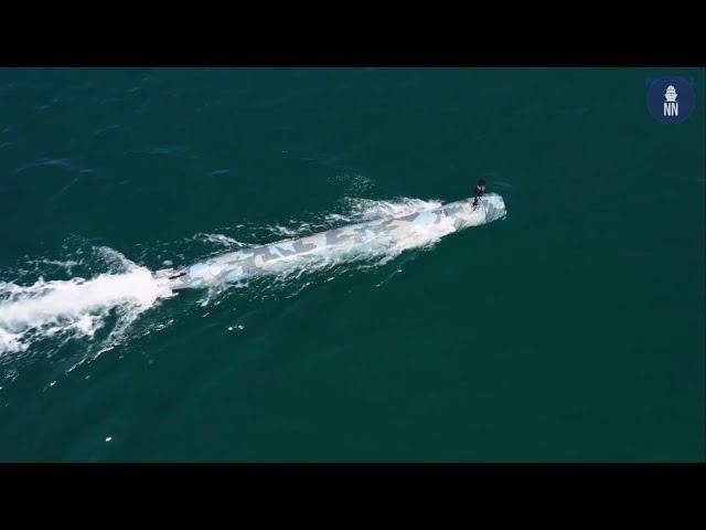 Ep. 6/8 - Naval Group Underwater Weapons in Saint-Tropez: D19 Autonomous Underwater Vehicle