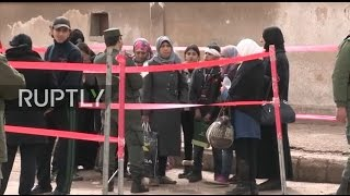 LIVE  Syria opposition forces to leave last neighbourhood they hold in Homs