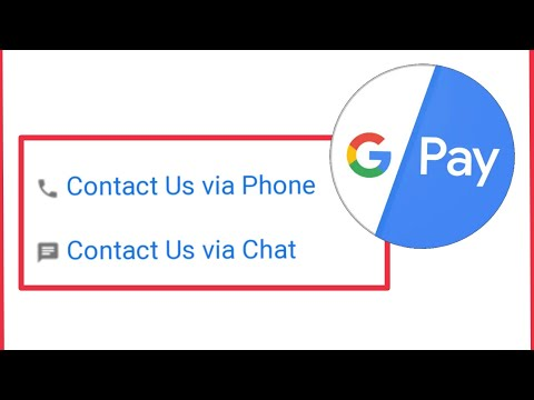 Contact Us Via Phone Call And Chat In Google Pay