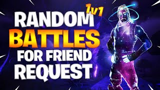 GALAXY SKIN 1v1 BUILD BATTLE'S ME FOR A FRIEND REQUEST (Fortnite Playground)