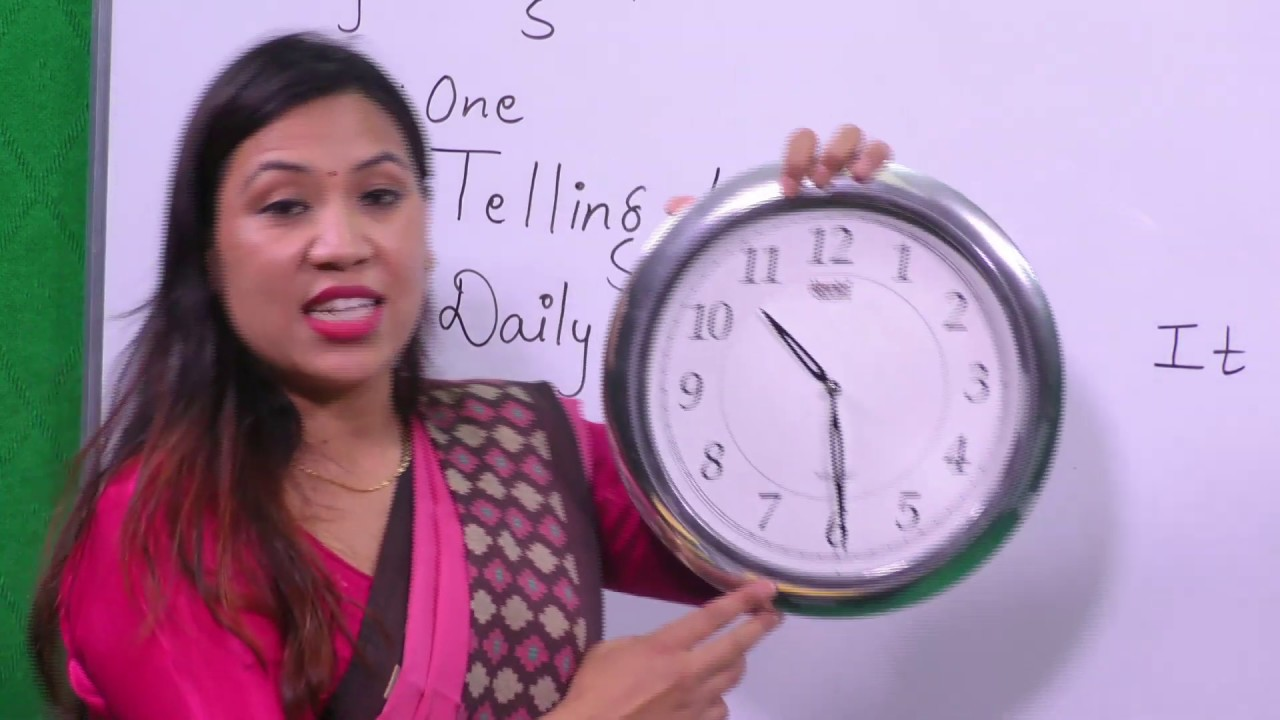 Download 1. Class 3 | English | Unit-1 | Telling Time ( Daily Routine ) |