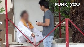 Fake Pandit Exposed Social Experiment! - Funk You (Prank in India)
