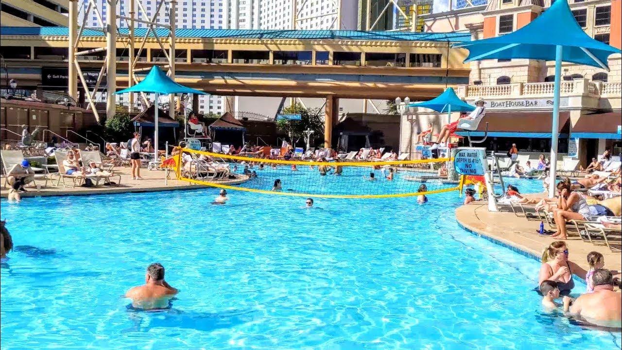 Pool At New York-New York Hotel & Casino (Las Vegas