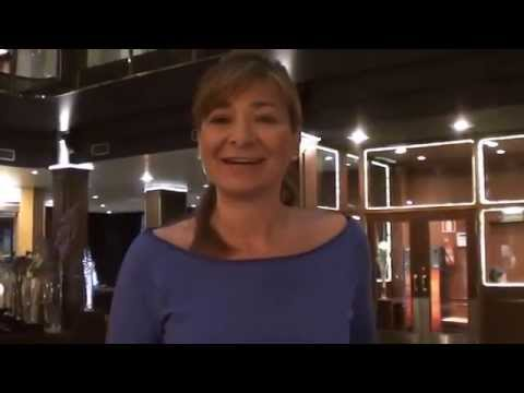 Mélanie Degoy presenta los hoteles de la cadena Plaza Andorra