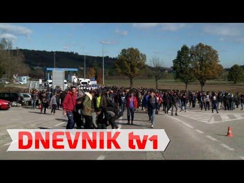 Kriza u Krajini   suzavcem na migrante, otvoren Ušivak