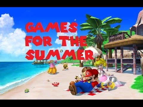 ASMR/Whisper: Games For The Summer