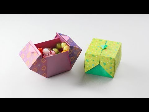 Origami Box OrigamiDesigned By SWEET PAPER