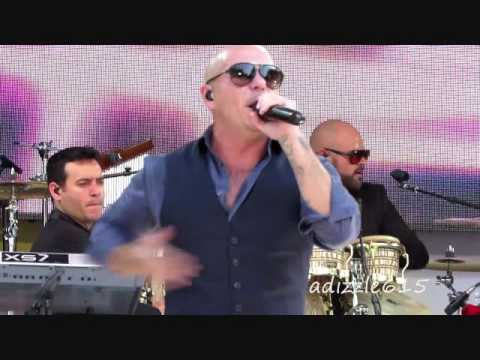 Feel This Moment (Live Video) Pitbull GMA Concert at Central Park