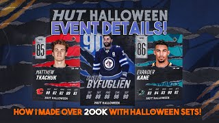 NHL 19 HUT Halloween Event! Find out how I made 200k with this event!