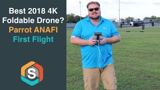 Best 2018 4K Foldable Drone? Parrot ANAFI First Flight