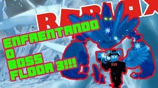Roblox- MATANDO O BOSS DO FLOOR 3 Ra'thae der Eiskönig + DICAS (SwordBurst 2) #3/10