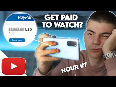 I Tried Making Money by Watching YouTube Videos For 8 Hours