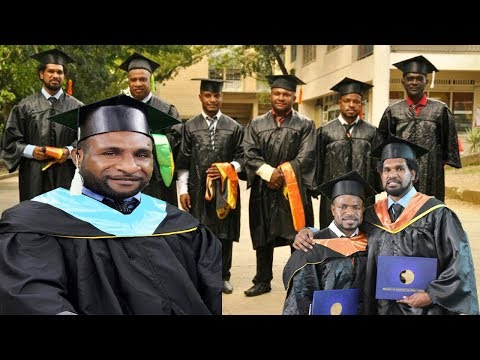 Papua New GuineaStudents 2018 Graduation in Cebu City, Philippines
