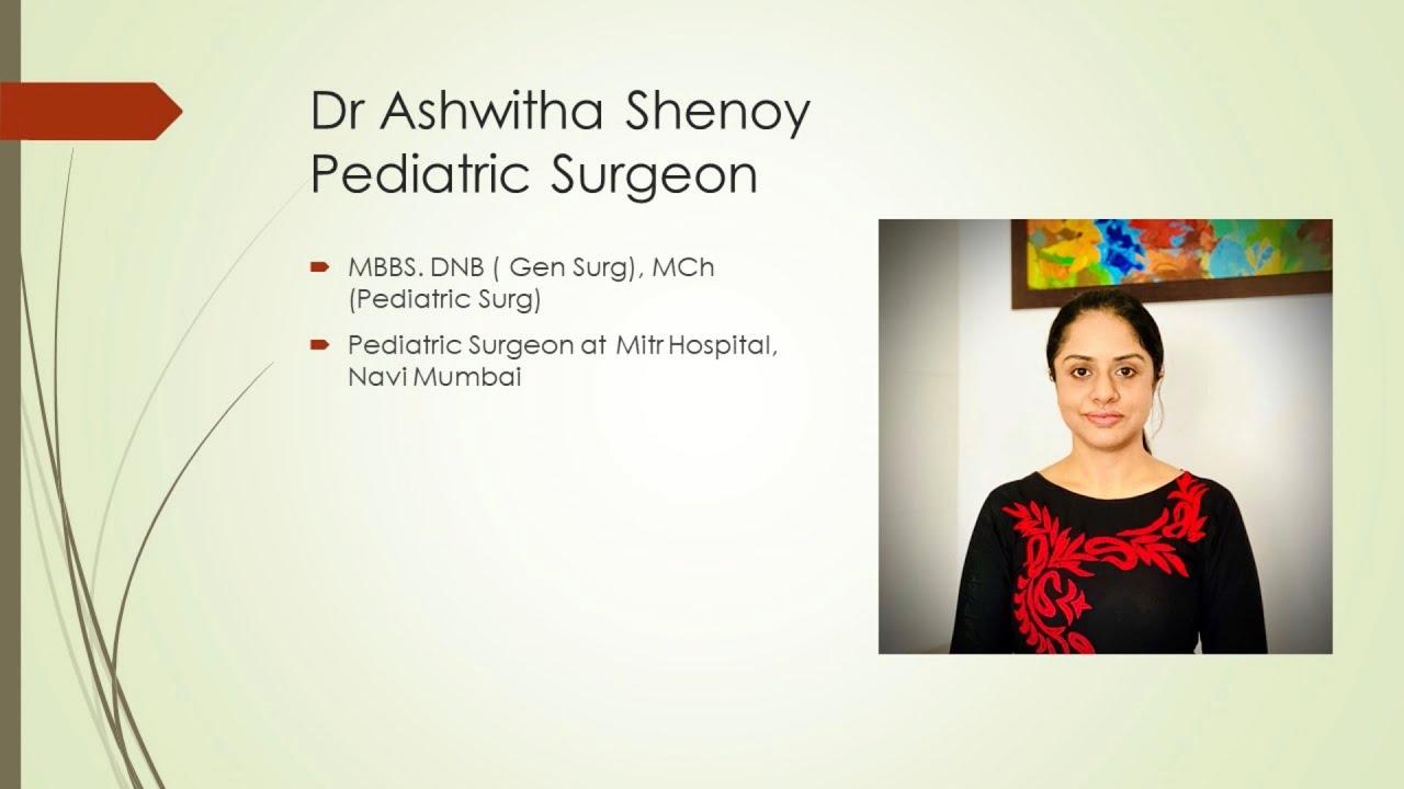 Hernia Repair Surgery in a child: Know more- Dr Ashwitha Shenoy, Pediatric Surgeon, Navi Mumbai