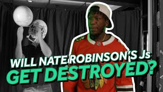 Nate Robinson Has to Watch His Custom Jordans Get Shredded If He Loses Bet with Knicks Fan