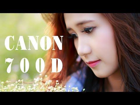 Đánh giá và set picture Style màu hồng cam cho CANON 700D với lens 50 1.8 stm