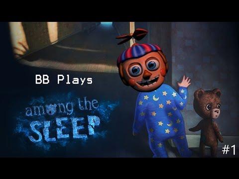 FUN WITH TEDDY || BB PLAYS: Among the Sleep #1