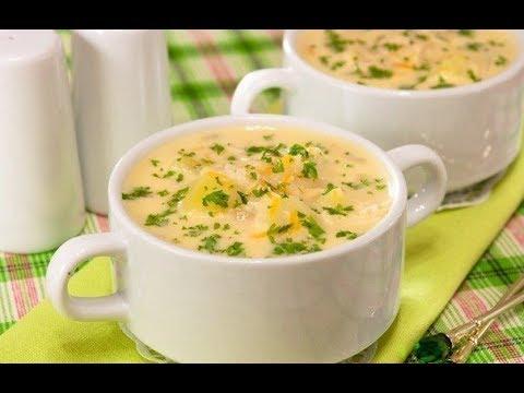 Как сварить суп с плавленными сырками и вермишелью
