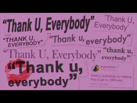"Ariana Grande Vs Backstreet Boys - ""Thank U Everybody"" Mashup"