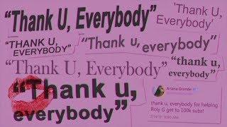"Baixar Ariana Grande Vs. Backstreet Boys - ""Thank U, Everybody"" (Mashup)"