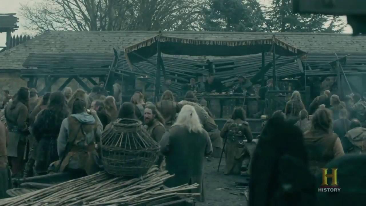 vikings sigurd s death scene ending scene season 4 episode 20