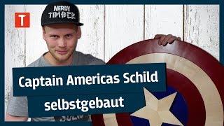 So baut man Captain Americas Schild: Avengers Endgame feat. Nerdy Timber