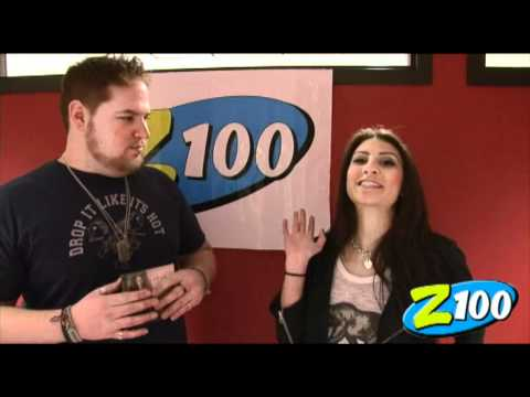 Z100 Interview with Kristina Maria