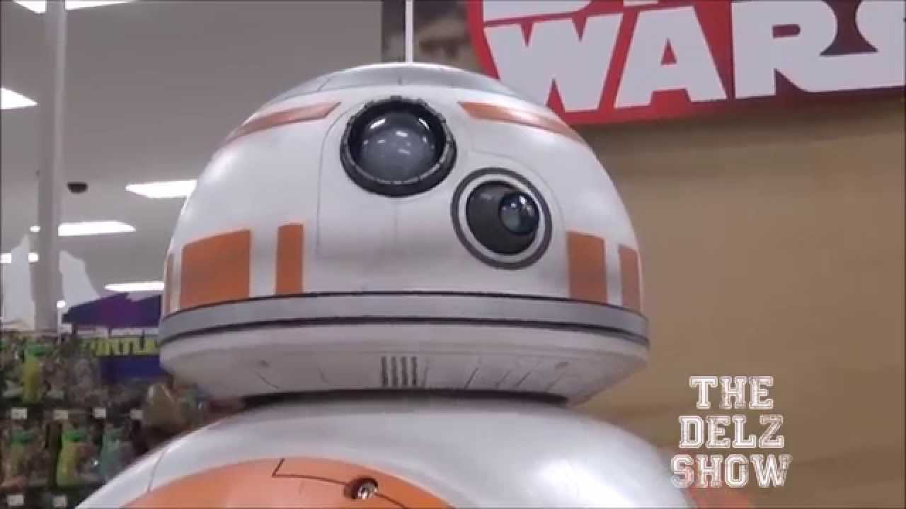 Star Wars BB8 Droid Life-sized Close Up With Sounds + Movement For ...
