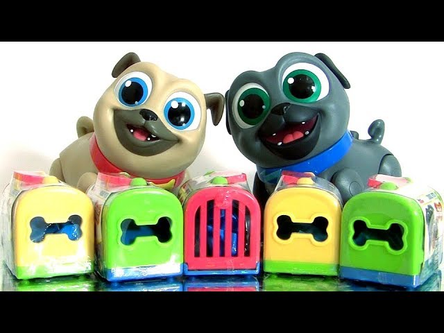 Puppy Dog Pals Toys Surprises Disney Junior TRAVEL PETS Mystery Pack